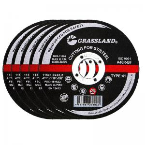 Quality 115X1X22mm (4.5 INCH) Flat thin Inox metal Cutting Disc for Angle Grinders for sale