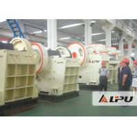 Quality Hard Rock Mine Crushing Equipment , PEV Series High Efficiency Stone Jaw Crusher for sale