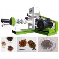 Quality High Nutrition Fish Feed Production Line For Small / Medium Fish Farm Holders for sale