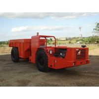 12000Kg capacity  for medium scale rock excavation transportation truck