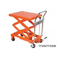 Buy cheap Compact Structure Mobile Hydraulic Lifting Table With Electrical Controlling System from wholesalers