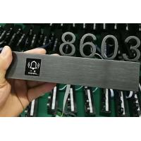 Quality Customized Stainless Steel Doorbell Hotel   SUS Room Number LED Light DND Available for sale