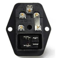 Quality C14 recessed socket with switch for sale