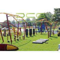 Quality 35mm Pile Height Artificial Playground Turf Grass Low Maintenance Costs for sale