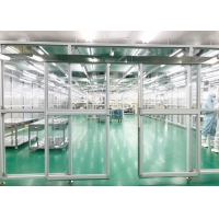 Quality Class 1000 SUS 304 Frame Modular Clean Room / Softwall Clean Room Facility for sale