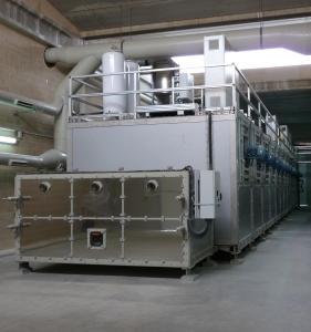 Quality Belt Sludge Drying Equipment Sewage Sludge Dryer System Energy Saving for sale