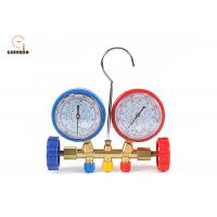 Quality Easy To Read Welding Tools And Equipment Freon Gauge Set With Couplers for sale