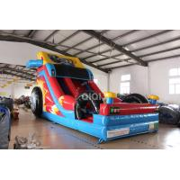 Buy cheap Inflatable Crazy Racing car slide from wholesalers