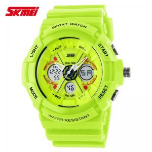 Quality Cool Mordern Sports Men Analog Digital Wrist Watch Dual Time Display Mode for sale