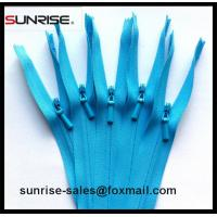Buy cheap YKK 3# nylon invisible zipper C/E with waterdrop slider high quality Nylon open from wholesalers