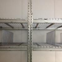 Quality Warehouse Custom Metal Shelving , Freezer Cold Room Steel Wire Rack Shelving for sale