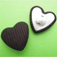 Best Heartshape button blank wholesale