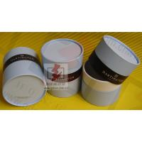 Customized Food Packaging Tubes , Chocolate Paper Tube Containers