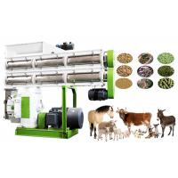 Quality High Efficiency Animal Feed Production Machine , Cattle Food Processing Machine for sale