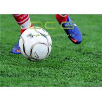 Quality PE Material School Football Field Artificial Grass 50mm Pile Height 13000 Dtex for sale