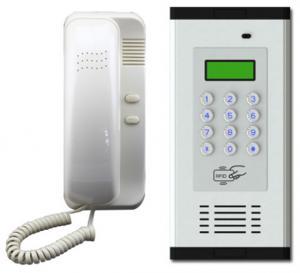 Quality 4 Wires Audio door phone Multi-apartment audio intercom System for sale