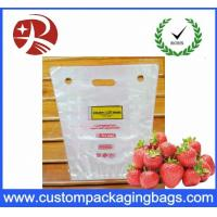 Quality PP Portable Fruit Packing Bag With Perforation And Hanger Hole for sale
