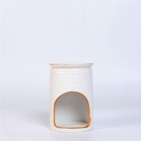 Quality Easy Cleaning Ceramic Scented Oil Burner , Aromatherapy Oil Burners for sale