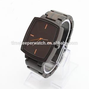 China 2017 new fashion men wood watch factory wholesale wrist watches oem on sale