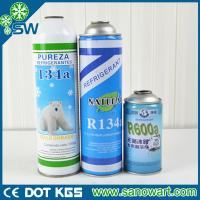 Quality Purity more than 99.9% Air condition gas r134a with CE certification for sale