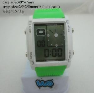 Quality Men′s Sport Mutifuction Digital Wrist Watch for sale