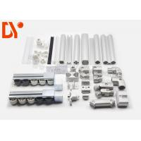 Quality Industrial Cold Rolled Lean Metal Pipe Connectors For ESD Workbench / Work Table for sale