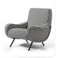 Quality Classic Retro Modern Upholstered Sofa Living Room Fabric Armchair HY-C357 for sale