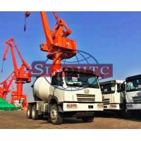 Quality 10 Cubic Concrete Agitator Truck , RHD Steering Self Mixing Concrete Truck for sale