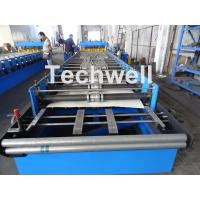 Buy 7.5KW Metal Tile Roll Forming Machine For Color Steel / Galvanized Coil at wholesale prices