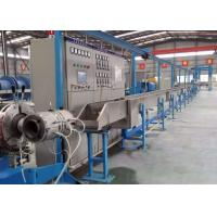 Quality Professional Electric Wire Manufacturing Machine , Cable Extrusion Production Line for sale