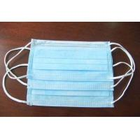 Quality Standard Size Fluid Resistant Face Mask , 3 Layer Medical Breathing Mask for sale