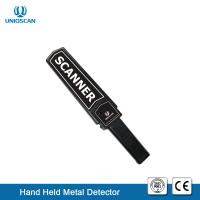 Quality Standard 9V Battery Hand Wand Metal Detector Wand IP54 For Security Checking for sale