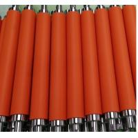 Quality Factory customized low price silicone rubber rollers, for printing or pipe coating rubber roller coating for sale