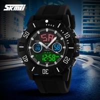 Quality Imitation Branded Top Ten Sport Analog Digital Wrist Watch With Dual Time Display Function for sale