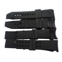 Quality Black Silicone Watch Straps Custom Silicone Products Wholesale Watch Bracelet for Policeman for sale