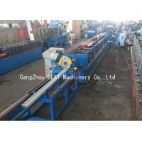Buy cheap Automatic PU Foam Roller Shutter Door Roll Forming Machine 50HZ / 3 Phase from wholesalers