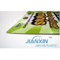 Buy cheap Plastic Core Flute Board Sign from wholesalers