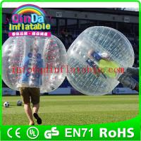 China hot sale bubble soccer bubble football human bubble ball for games on sale