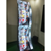 "Quality OLED 55"" 1920x1080 400cd/m2 Floor Stand Advertising Player for sale"