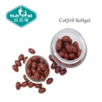 Quality Red Color CoQ10 softgel with 30mg/60mg/100mg for Heart Health Food/Contract Manufacturing for sale