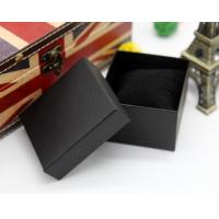 Quality wholesale custom printed rigid cardboard gift box for jewelry watch box top and bottom packing boxes for bracelet for sale