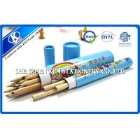 Best Eco friendly Paper Tube Erasable Colored Pencils Set With ASTM and Offset Printing wholesale
