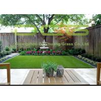 Quality Garden Synthetic Grass Turf , Artificial Grass Landscaping With 5 Years Warranty for sale