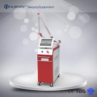 China 2019 Hot sale beauty equipment q-swtiched nd yag laser tattoo remove machine for all colors on sale