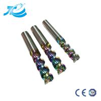Buy cheap DLC End Mill For Aircraft Aluminum High Speed High Cutting Performance Cnc Tool from wholesalers