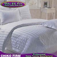 China Pure Cotton Bed Sheet Fitted Sheet Duvet Cover Pillow Sham 5 Stars Hotel Bedding Sets on sale