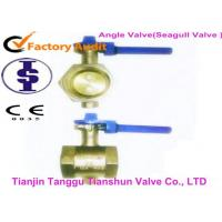Quality Small Diameter Pipes Corrosion Resistant Valves , Threaded Connections Angle Valve for sale