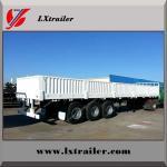China factory sale 3 Axle Side Wall Semi Trailer cargo semi trailer