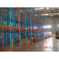Quality Industrial Cold Food Drive In Pallet Racking 800 - 2500kgs / Pallet Weight Capacity for sale