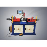 Quality Double Head Tubeend Forming Machine , Semi Automatic Steel Pipe Forming Machine for sale